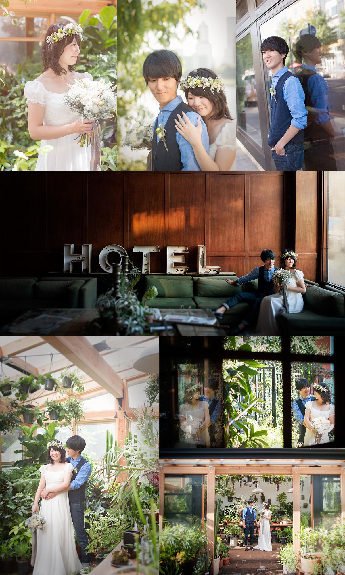 ポートランド ダウンタウン ウェディング 観光 エースホテル